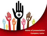 Religious/Spiritual: Blood Donor PowerPoint Template #08835