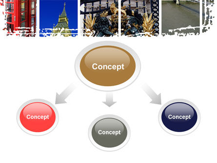 Vacation In London PowerPoint Template, Slide 4, 08836, Flags/International — PoweredTemplate.com
