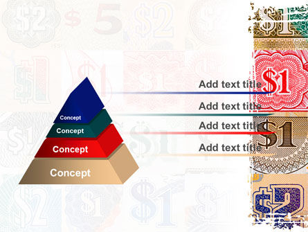 Dollar Banknotes PowerPoint Template Slide 12