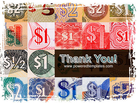 Dollar Banknotes PowerPoint Template Slide 20