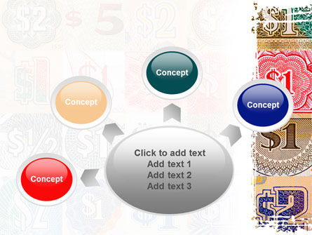 Dollar Banknotes PowerPoint Template Slide 7