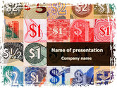 Financial/Accounting: Dollar Banknotes PowerPoint Template #08838