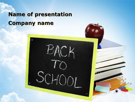 Back To School Activities and Crafts PowerPoint Template