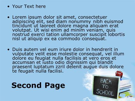 Back To School Activities and Crafts PowerPoint Template Slide 2