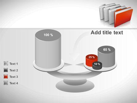 Folders PowerPoint Template Slide 10