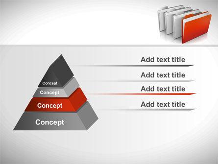Folders PowerPoint Template Slide 12