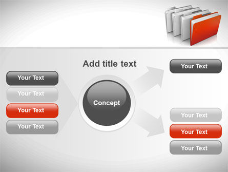 Folders PowerPoint Template Slide 14