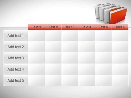 Folders PowerPoint Template Slide 15