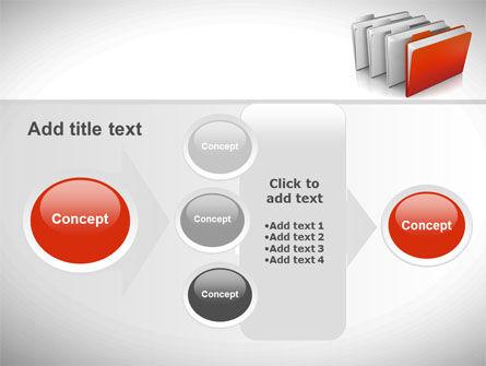 Folders PowerPoint Template Slide 17