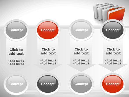 Folders PowerPoint Template Slide 18