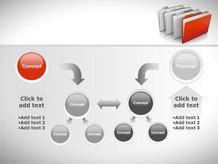 Folders PowerPoint Template Slide 19