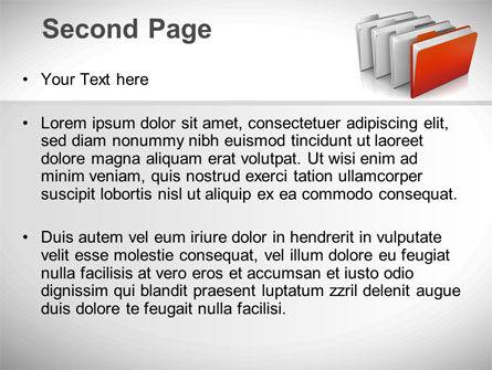 Folders PowerPoint Template Slide 2