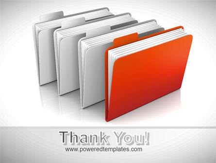 Folders PowerPoint Template Slide 20