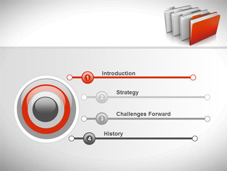 Folders PowerPoint Template, Slide 3, 08842, Careers/Industry — PoweredTemplate.com