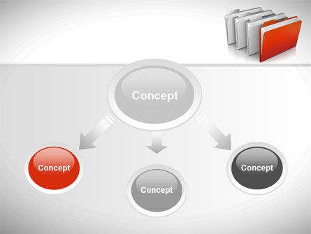 Folders PowerPoint Template, Slide 4, 08842, Careers/Industry — PoweredTemplate.com