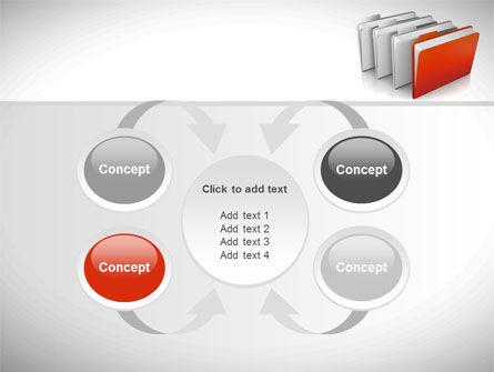 Folders PowerPoint Template Slide 6