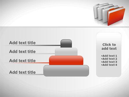 Folders PowerPoint Template Slide 8