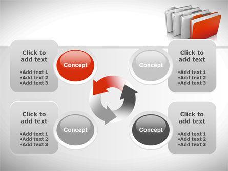 Folders PowerPoint Template Slide 9