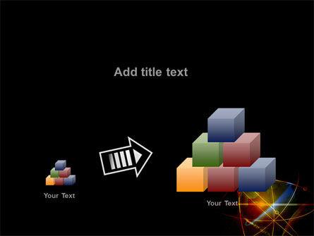 Satellite Link PowerPoint Template Slide 13