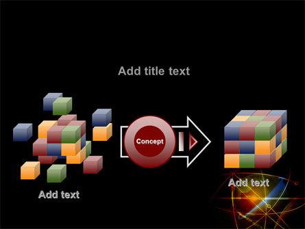 Satellite Link PowerPoint Template Slide 17