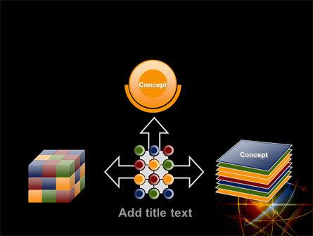 Satellite Link PowerPoint Template Slide 19