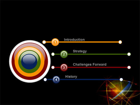 Satellite Link PowerPoint Template, Slide 3, 08844, Global — PoweredTemplate.com