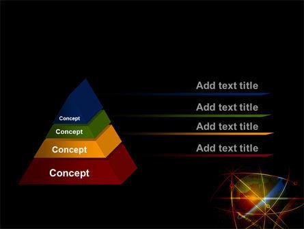 Satellite Link PowerPoint Template, Slide 4, 08844, Global — PoweredTemplate.com