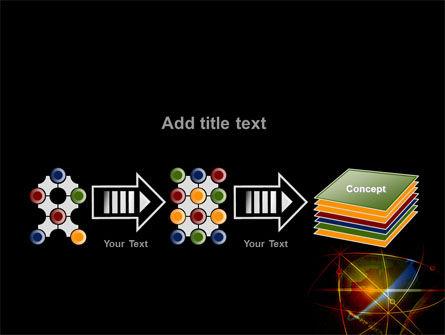 Satellite Link PowerPoint Template Slide 9