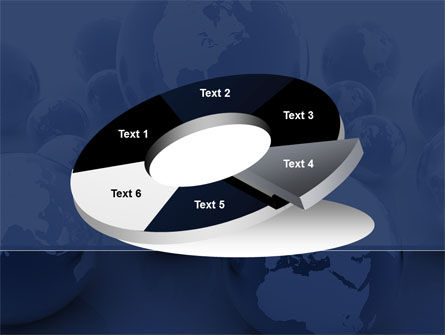 Earth Globe PowerPoint Template Slide 19