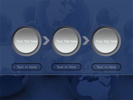 Earth Globe PowerPoint Template Slide 5