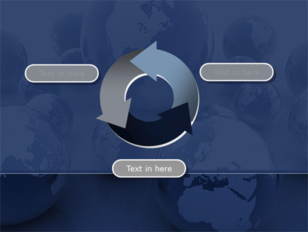 Earth Globe PowerPoint Template Slide 9