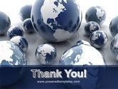 Earth Globe PowerPoint Template#20