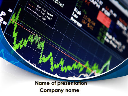 Stock Market Rates PowerPoint Template, 08846, Financial/Accounting — PoweredTemplate.com