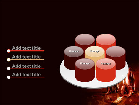 Film Cassettes In A Dark Red Colors PowerPoint Template Slide 12