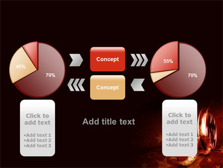 Film Cassettes In A Dark Red Colors PowerPoint Template Slide 16