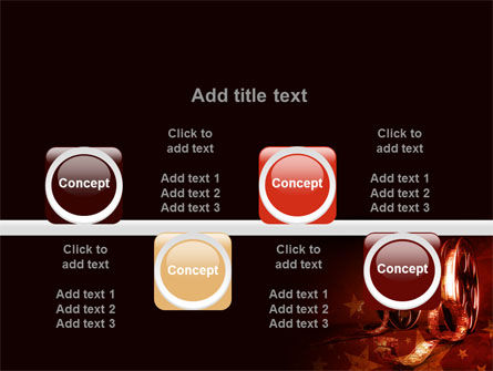 Film Cassettes In A Dark Red Colors PowerPoint Template Slide 18