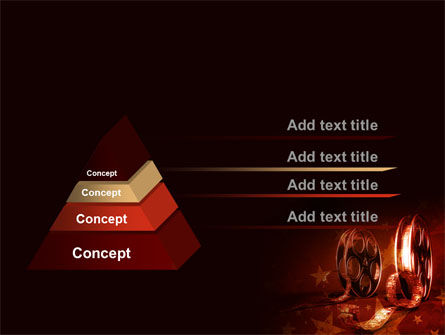 Film Cassettes In A Dark Red Colors PowerPoint Template Slide 4