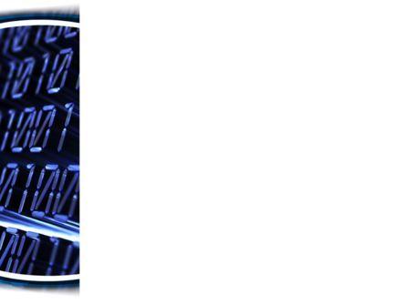 Digital Matrix PowerPoint Template, Slide 3, 08849, Technology and Science — PoweredTemplate.com