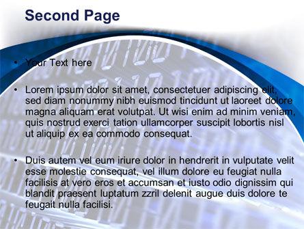 Digital Matrix PowerPoint Template, Slide 2, 08849, Technology and Science — PoweredTemplate.com