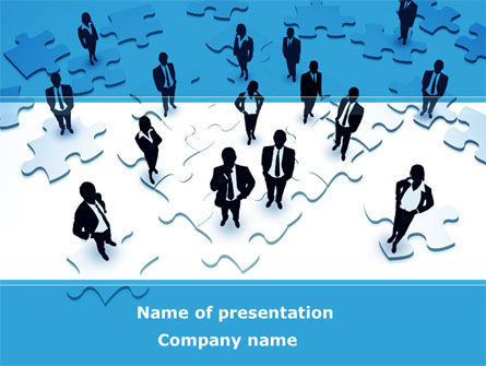 Team Building Process PowerPoint Template, 08850, Business — PoweredTemplate.com
