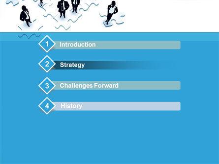 Team Building Process PowerPoint Template, Slide 3, 08850, Business — PoweredTemplate.com
