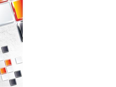 Mosaic Parts PowerPoint Template, Slide 3, 08855, Abstract/Textures — PoweredTemplate.com