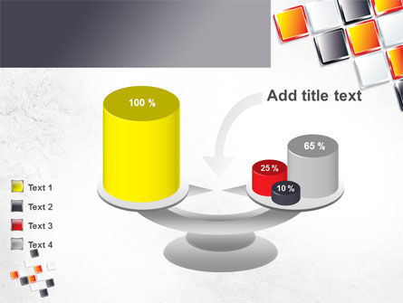 Mosaic Parts PowerPoint Template Slide 10