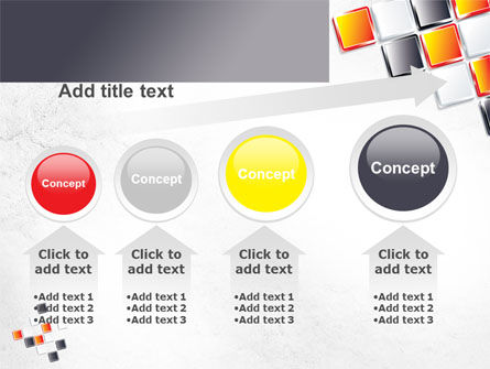Mosaic Parts PowerPoint Template Slide 13