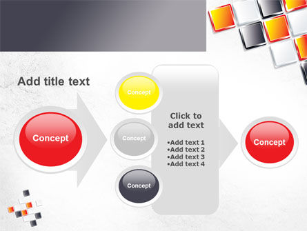 Mosaic Parts PowerPoint Template Slide 17