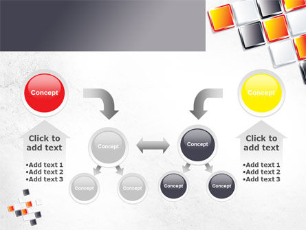 Mosaic Parts PowerPoint Template Slide 19