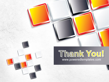 Mosaic Parts PowerPoint Template Slide 20