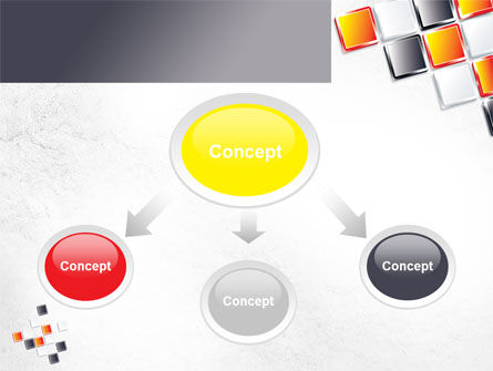 Mosaic Parts PowerPoint Template Slide 4