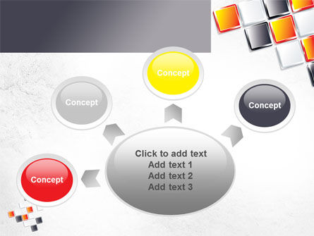 Mosaic Parts PowerPoint Template Slide 7
