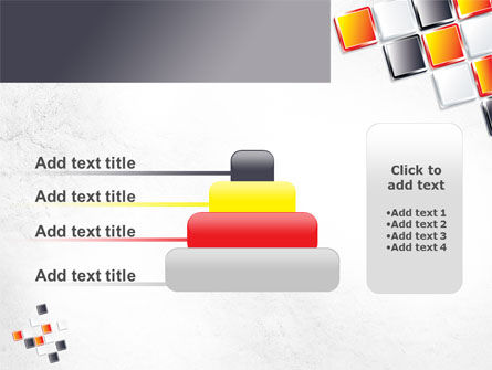 Mosaic Parts PowerPoint Template Slide 8